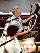 Ako vyzerali prvé prototypy bezpečnostých pásov?
