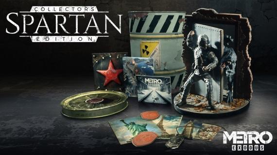 Bližší pohľad na Metro Exodus Spartan edíciu, ktorú dáme do súťaže