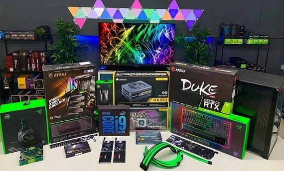 Aké herné PC zostavy zložiť za 500, 800, 1000 až 2500 eur na jar 2019