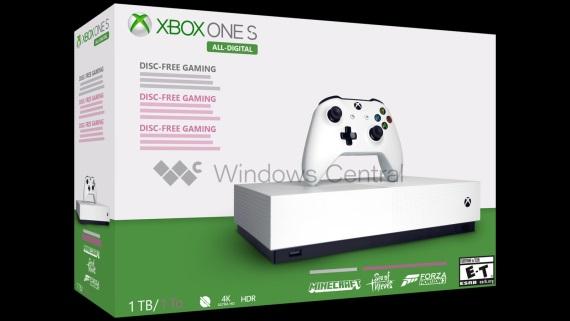 Balenie Xbox One S All-Digital Edition leaknuté, konzola vyjde 7. mája