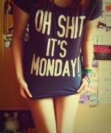 Pondelok, práca začína