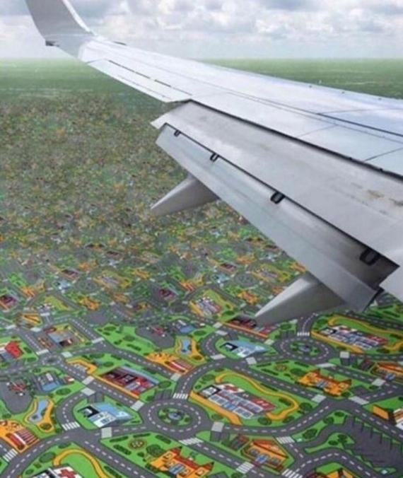 Najlepší výhľad z lietadla