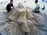 Keď sa hráte na piesku