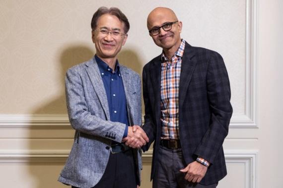Microsoft a Sony sa spojili v hernom streamingu