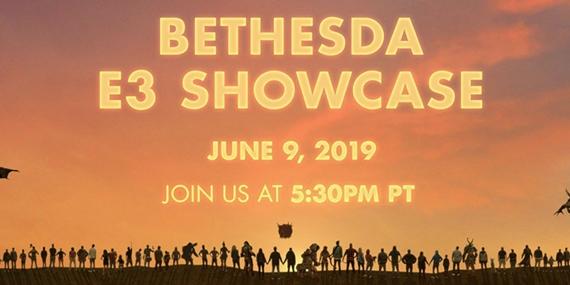 Bethesda E3 livestream začne o 2:30