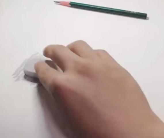 Keď nakreslíte ceruzkou gumu...