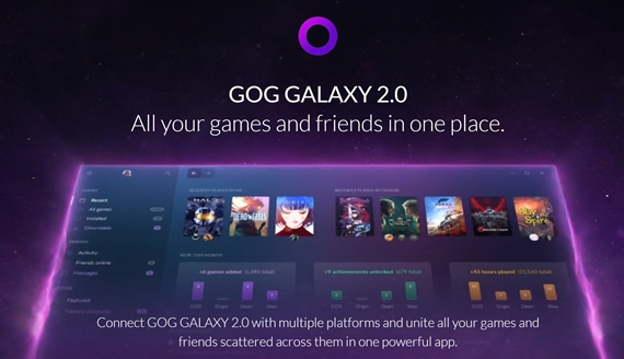 Aký je GOG Galaxy 2.0 launcher?