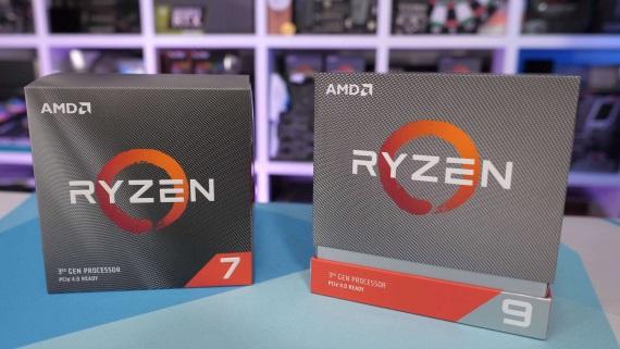 AMD Ryzen 3700X a 3900X procesory dostali testy