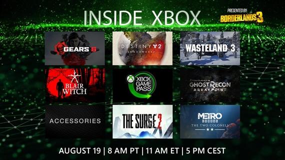 Microsoft Inside Xbox relácia z Gamescomu (17:00)