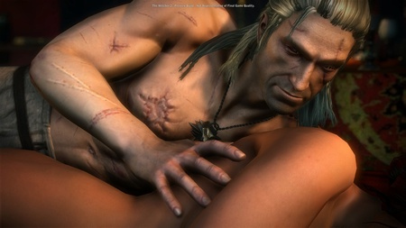 Witcher 2 - detaily a sexscény