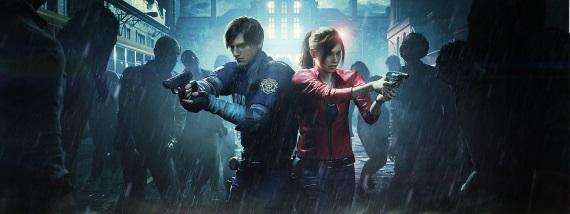 História Resident Evil série