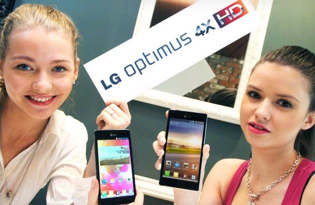 LG predstavil štvorjadrový mobil