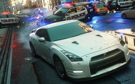 Need for Speed: Most Wanted v pohybe