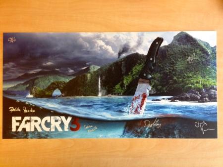 Sú�a�: Tvorcami podpísaný obraz FarCry 3