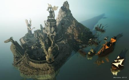 Svet Game of Thrones v Minecrafte
