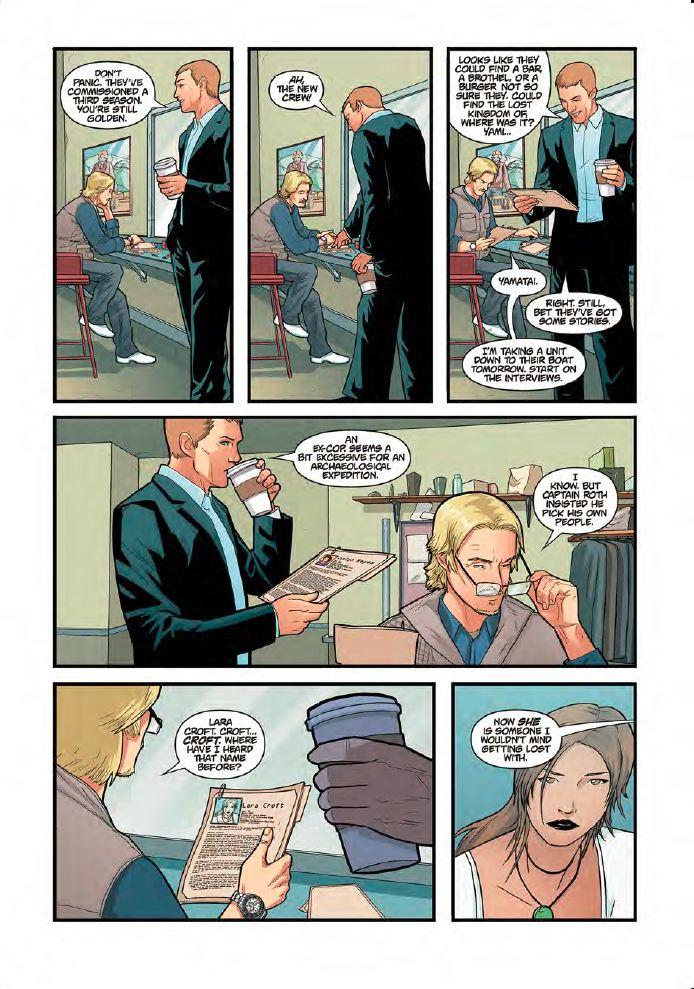 Tomb raider dostane prequel komiks sector