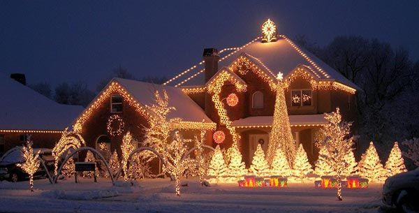 Mix vianočných svetelných show