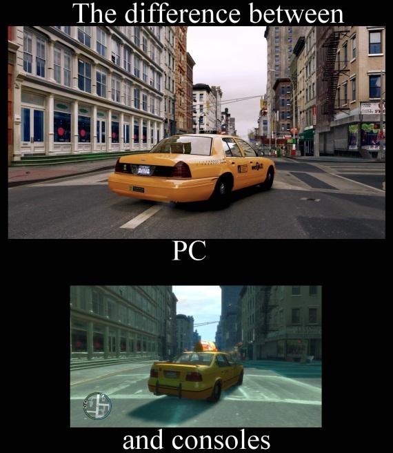 Rozdiel medzi PC a konzolami