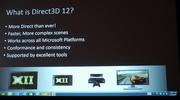 DirectX 12 predstaven�, vyjde na PC, Xbox One, mobily a bude r�chlej�ie