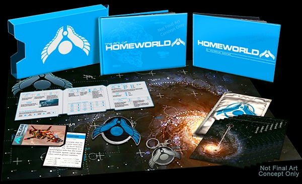 Gearbox pribl�il Homeworld Remastered ed�ciu