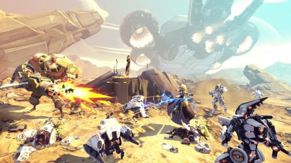 Gearbox n�m predv�dza coop v Battleborn, prid�va z�bery