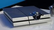 Sliz�k sediaci na striebornej PS4 zachyten� na fotk�ch