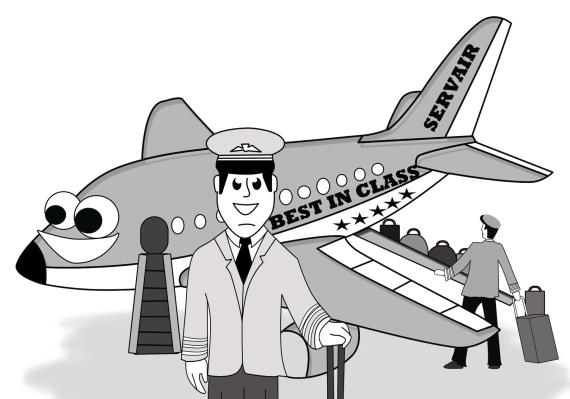 Rozhovory pilotov s kontrolnou vežou