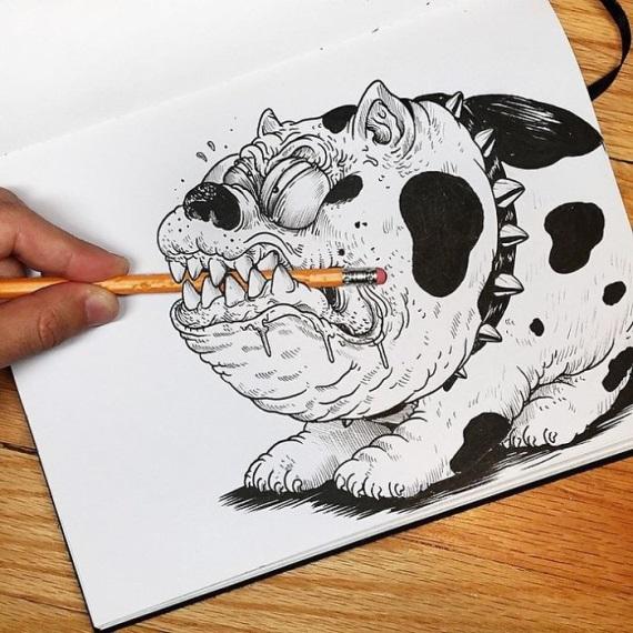 Obrázky, ktoré bojujú so svojim tvorcom