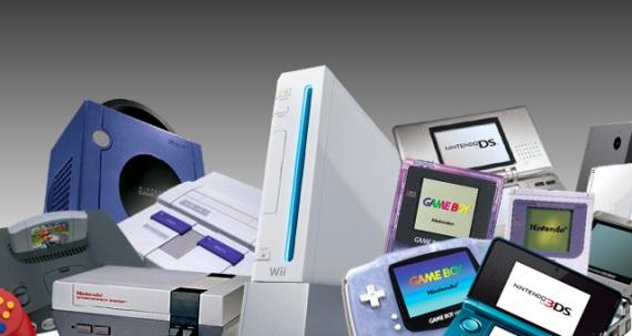 Predaje softvéru a hardvéru Nintenda od roku 1983 po súčasnosť
