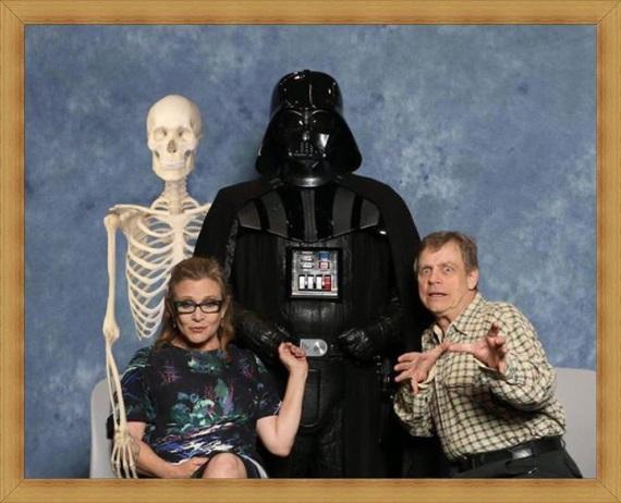 Rodina Skywalkera sa znovu stretla