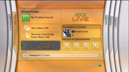 História Xbox dashboardov
