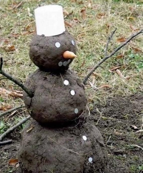 Chcete postaviť snehuliaka cez tieto Vianoce?