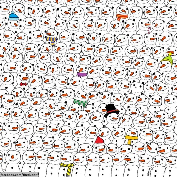 Nájdite pandu