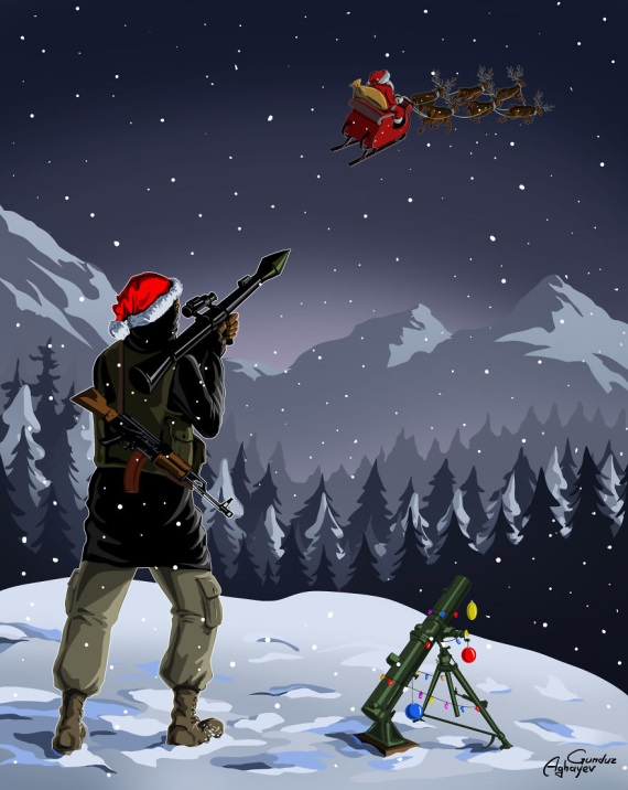 Santa si musí tieto Vianoce dávať väčší pozor