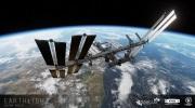 Earthlight ukazuje vesm�rnu stanicu na nov�ch z�beroch