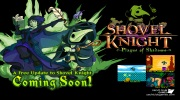 Shovel Knight s Plague Knightom aj Kratosom
