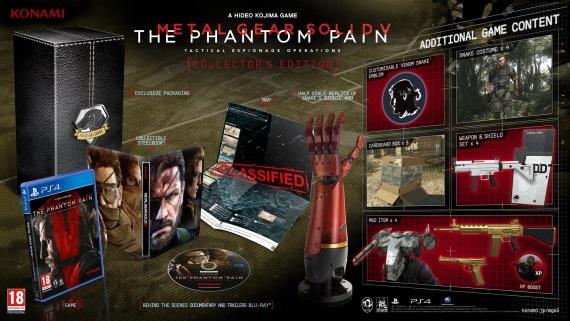 Metal Gear Solid 5: The Phantom Pain dostal d�tum vydania, odhalil zberate�sk� ed�ciu