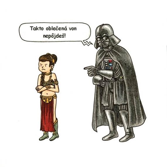 Keby bol Dart Vader dobr� otec...