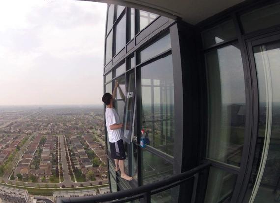 Takto sa um�vaj� okn� na 30. poschod�