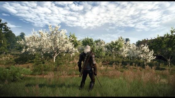 Witcher 3 v 4K so sweetFX 2.0 ukazuje n�dhern� pr�rodu hry