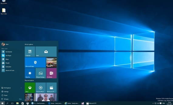 Ako to vyzerá s aktuálnou preview verziou Windows 10?