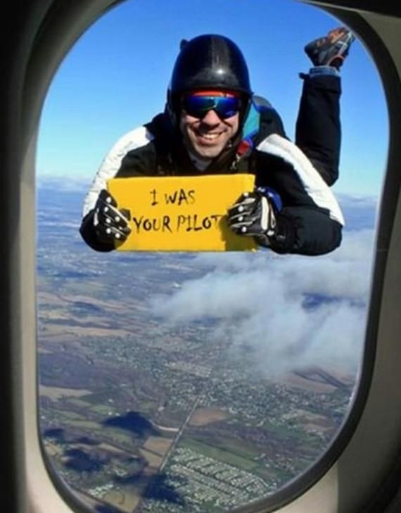 Ja som bol váš pilot