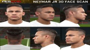 PES 2016 ukazuje 3D sken Neymara