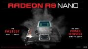 AMD Radeon R9 Nano predstaven�, pon�ka mal� ve�kos� za vysok� cenu