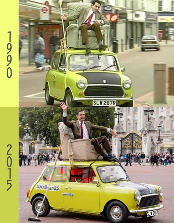 Mr. Bean stále fičí