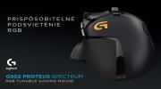 Logitech predstavuje nov� verziu G502 my�i, teraz aj s mo�nos�ou zmeny farby podsvietenia