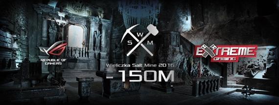 Asus ROG Extreme Gaming V v so�nej bani Wieliczka je Live