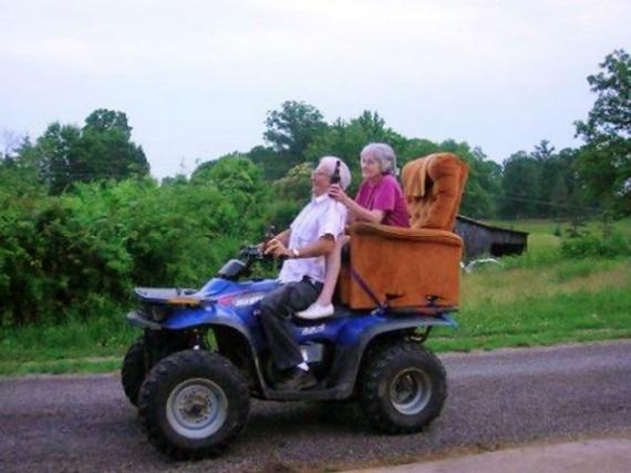 Stará nasadaj, ideme na výlet