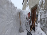 Bežná zima v Alpách
