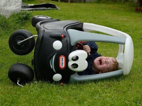 Keď máte prvú automobilovú nehodu